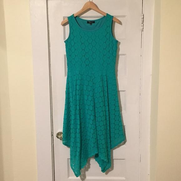 Dresses & Skirts - Teal summer dress